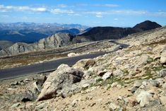 Welcome to the Mount Evans Scenic Byway; a 28-mile-long stretch of road that continuously ascends, making it not only the highest paved road in Colorado but in North America!