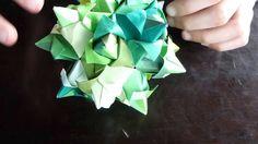 Origami kusudama tulipe :-)