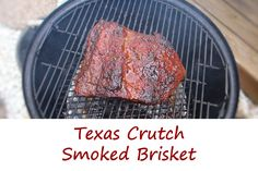 Some folk aren't fans of the 'Texas crutch' method of cooking brisket (in this case, a brisket flat). Some folks do the crutch with butcher paper. Some crutch with foil. This here is how I smoke my brisket using the Texas crutch. The end result is packed with flavor, tender and juicy. I slice it thin then pile it on buns for sandwiches or just eat it right off the plate. And yes, a good amount of it disappears while I'm slicing it.
