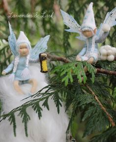 Reserved The Snow Fairies Waldorf Inspired por Phoebecapelle