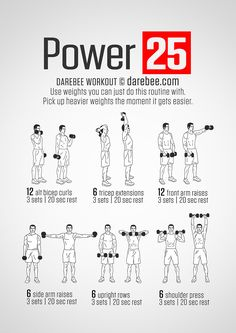 Power +25 Workout Más