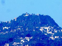 "View of Second Highest Peak of Mussoorie ""Gun Hill"" from my balcony. Location : Acon Premia-II, Dehradun : Aman / Clikmemoires™"
