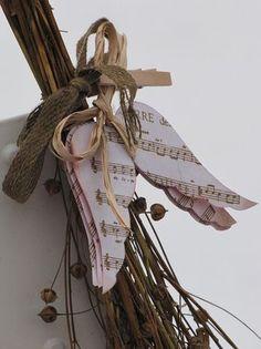 angel wing ornaments