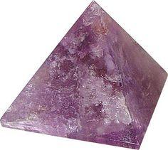 Amethyst Stone Pyramid