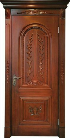 Enjoy The Beauty Of Stylish Interior Wooden Doors Single Main Door Designs, House Main Door Design, Wooden Front Door Design, Grill Door Design, Bedroom Door Design, Wood Front Doors, Door Design Interior, Bedroom Doors, Interior Doors
