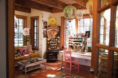 Creative spaces | art studios | craft rooms | creative workspaces | happy place Studio