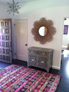 moroccan detail in entry by amber interiors