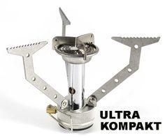 Ultra kompakter Alu Gaskocher Camping Gas Kocher für Camping Trekking & Outdoor   eBay