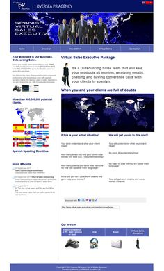 Oversea PR Agency (www.virtual-sales-executive.com)   Your Business is Our Business. Outsourcing Sales.