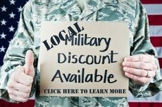 Military Discount finder for your local community.   http://www.militaryavenue.com/RewardFinder.aspx