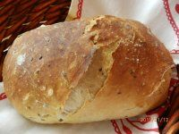 Jednoduchý chlebík Slow Cooker Recipes, Cooking Recipes, Healthy Recipes, Salty Snacks, Russian Recipes, Ciabatta, Rolls Recipe, Aesthetic Food, Ham