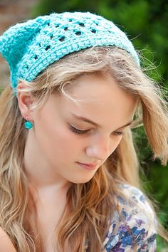Crochet Hair Accessories for Teens and Tweens by foreverandrea