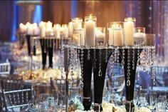 """Do floral arrangements feel a little too """"been there, done that"""" for your taste? Here, get inspired by 50 gorgeous centerpieces that don't rely on flowers to make a lasting impression.    More ..."""