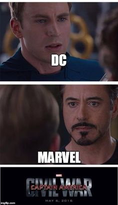 DC vs Marvel:Civil War