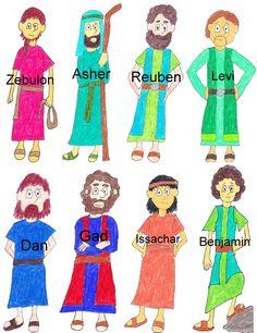 12 Sons of Jacob Pics