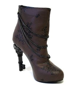 Skeleton Key Heeled Boot