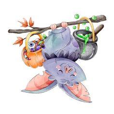Halloween Magic, Unicorn Halloween, Halloween Vector, Halloween Cartoons, Halloween Bats, Halloween Pumpkins, Vampire Pumpkin, Pumpkin Drawing, Pumpkin Vector