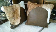 Conjunto de almohadillas de cuero genuino por RanchStudioArtworks