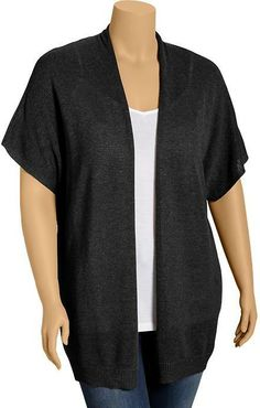 Old Navy Women's Plus Drapey Open-Front Sweater Cardis on shopstyle.com