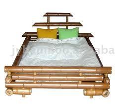 Resultado de imagem para cama solteiro em bambu