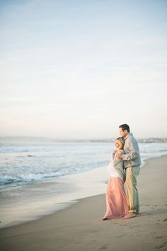 Beach Maternity Session from Christine Choi Read more - http://www.stylemepretty.com/living/2013/05/06/beach-maternity-session-from-christine-choi/