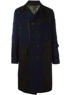 VALENTINO Double Breasted Coat. #valentino #cloth #coat