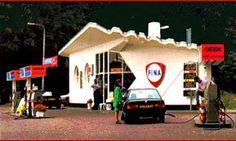 Fina Gas Station, Arnhem, The Netherlands