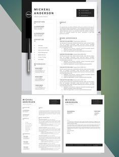 Cover Letter Format, Cover Letter For Resume, Cover Letter Template, Letter Templates, Application Letters, Modern Resume Template, Resume Cv, Creative Resume, Professional Resume
