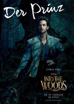 Into the Woods - Chris Pine - Film - Gewinnspiel - Disney - kulturmaterial