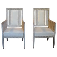 Pair of Carl Larsson Style Armchairs