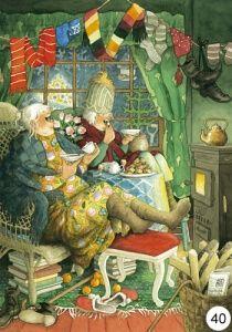 Inge Look Postkaarten 48 nuala art Illustrator, Whimsical Art, Super Funny, Funny Babies, Old Women, Love Art, Art Drawings, Artwork, Poster