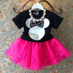 Minnie Girl Adorable Tutu Set