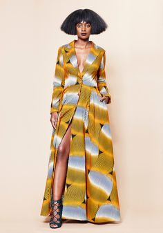Maya Jacket Dress by BERIQISU on Love of Fashion in Africa