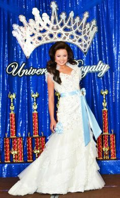 The beautiful Morganne Miss Universal Royalty® Ultimate Grand Supreme $10,000 CASH Winner competing in the Formal Wear Competition at the Universal Royalty Beauty Pageant Nationals. universalroyalty.com #universalroyalty