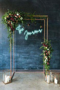 Custom Wedding Neon Sign. LED custom Decor for wedding Wall | Etsy Wedding Ceremony Ideas, Wedding Chuppah, Wedding Ceremonies, Wedding Backdrops, Wedding Backdrop Design, Wedding Aisles, Wedding Ceremony Arch, Wedding Canopy, Garden Wedding