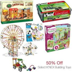 Kindle Books, K'NEX Building Toys, Price of Wales Tea, Rice Bowls, Nightlights and More