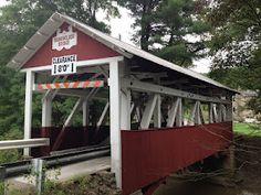 Covered Bridge circa 1860, Southwestern Pennsylvania