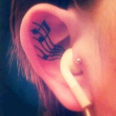 Music Very creative tattoos - Musique Tatouages très créatifs ! -