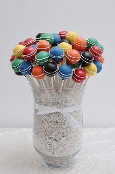 cake pop display idea