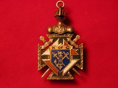 Knights of Columbus Jewelry Pendant religious by TheIDconnection, $475.00