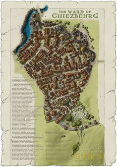 Ward of Chiezbehrg [City of Guild] by SirInkman