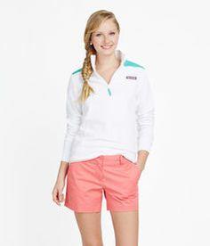Shop Dayboat Quarter Zip Pullovers & Shep Shirts for Women | Vineyard Vines Color:white cap day boat quarter zip  Size: medium