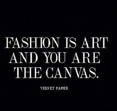 Fashion is art and you are the canvas. http://www.queenclothing.co.uk/