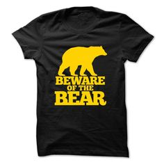 (Tshirt Order) Beware of the Bear T-Shirt [Hot Discount Today] T Shirts, Hoodies. Get it now ==► https://www.sunfrog.com/Names/Beware-of-the-Bear-T-Shirt.html?57074