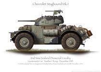 Chevrolet Staghound MkI Lt 1Tp 1943