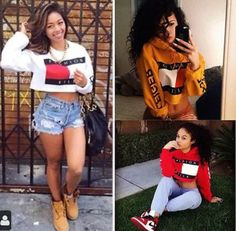 Premium crop tops that are hard to find and modeled after the iconic brand. These crop tops are HOT and look really good in person. Sexy meets street in these tops that are perfect for all 4 seasons.