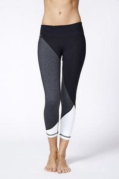 Vimmia Adagio 3/4 leggings                                                                                                                                                      More: #yoga #fitness #leggings | Shop @ FitnessApparelExpress.com