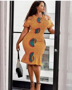 Stylish Ankara Styles are inarguably a standout amongst the most delightful bits of dress accessible. From the perplexing structures and strategy to the lovely styles that are sewn, Ankara Short Gown Styles, Short African Dresses, Short Gowns, Ankara Gowns, African Clothes, Ankara Skirt, African Fashion Ankara, Latest African Fashion Dresses, African Print Fashion