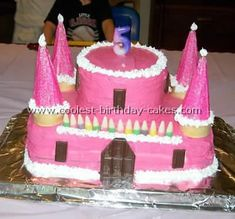 I'm going to attempt this cake for the girls 9th birthday party, princess theme!