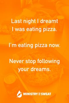 Daily Fitness Humor: Always follow your dreams! #fitness #workout #gym #crossfit #fitnesshumor #workouthumor